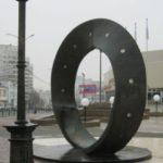 Памятник загадочной ленте Мёбиуса в Минске