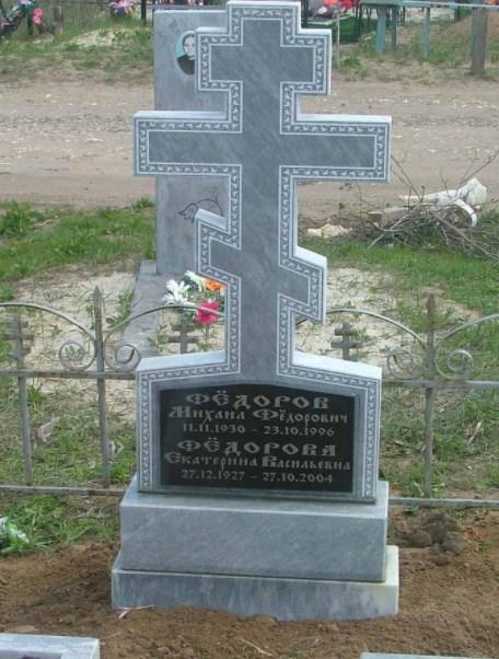 Памятники из гранита в форме креста и их особенности