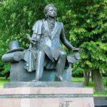 Бронзовый монумент А. С. Пушкину в Минске